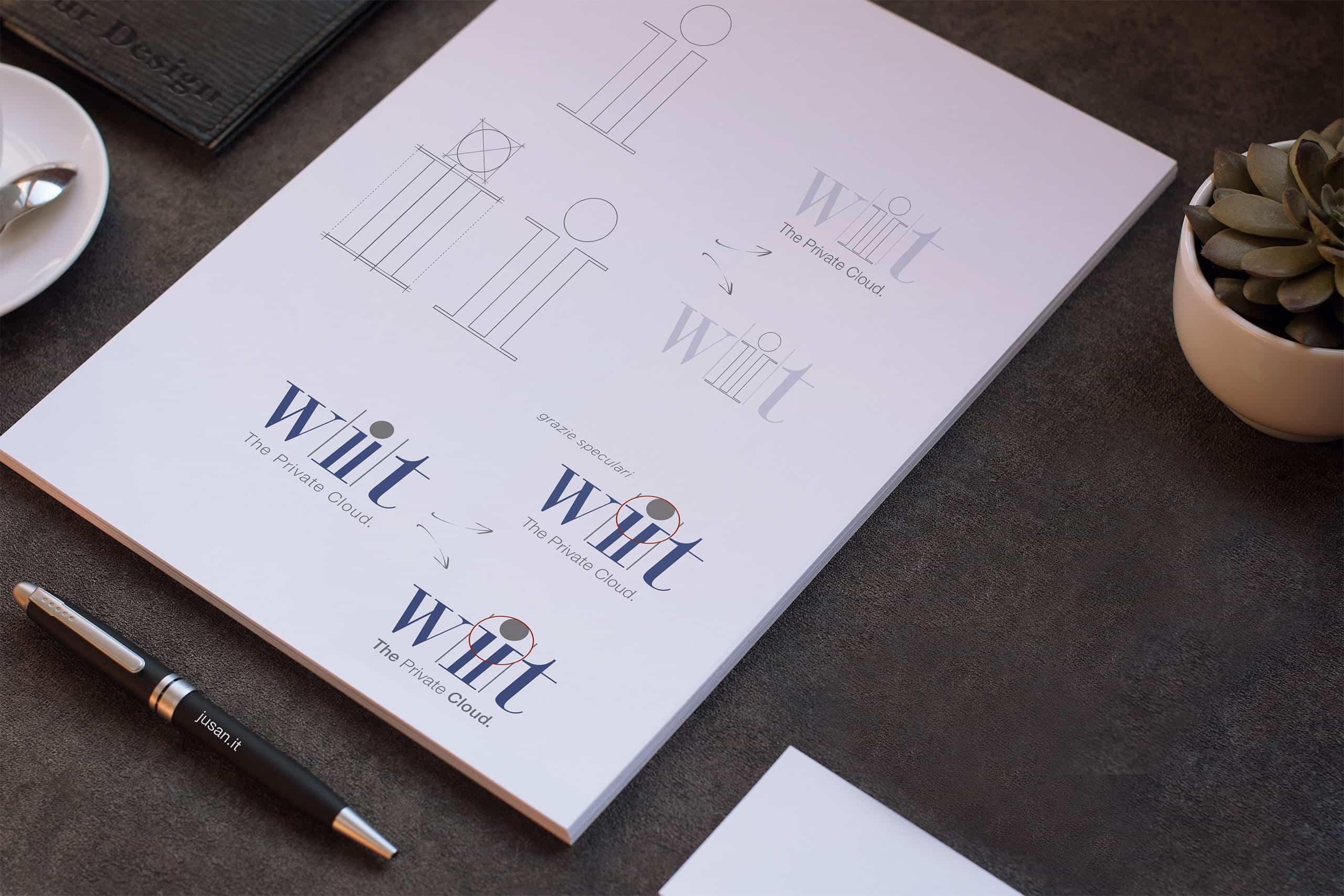 Logo Design - Agenzia di comunicazione ed ecommerce - Jusan Network