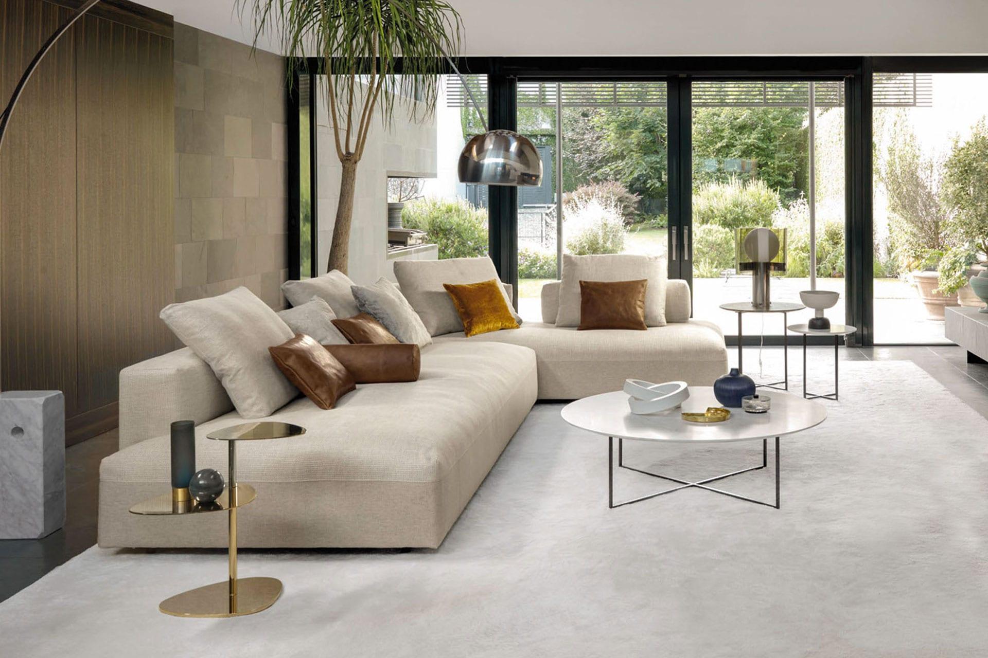 divano perfetto cucina soggiorno design